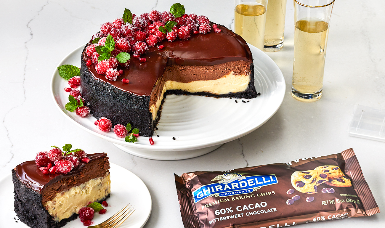 Ghirardelli Chocolate Cheesecake