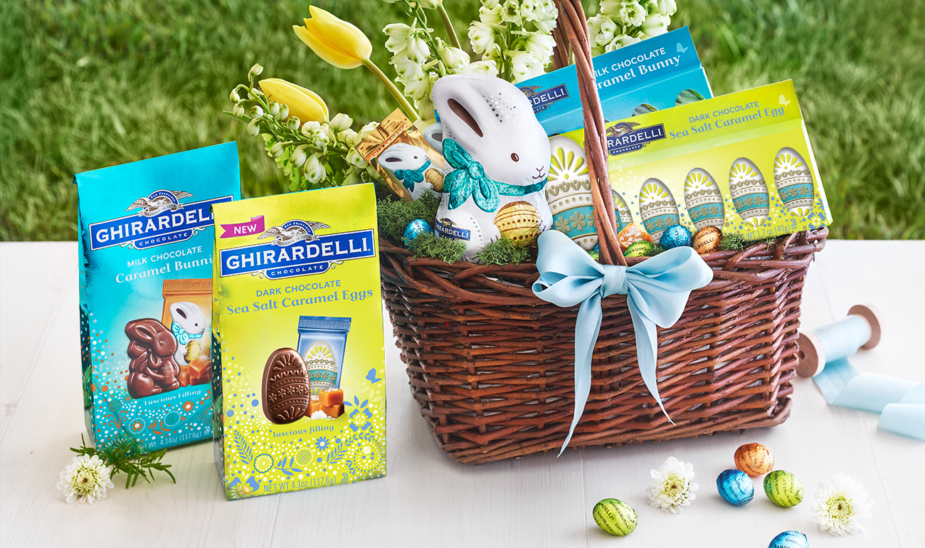 New Ghirardelli Dark Chocolate Sea Salt Caramel Eggs