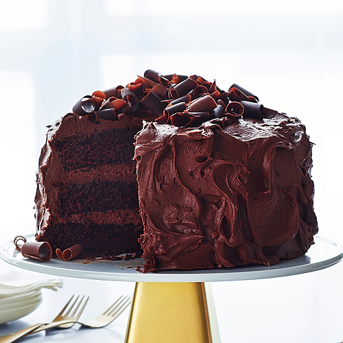 Classic Dark Chocolate Cake