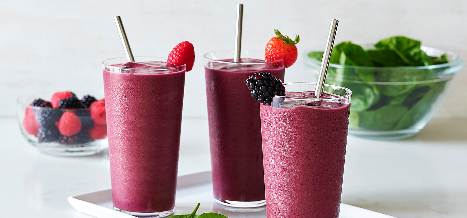 Image for 100% Cacao Berry Chocolate Chip Smoothie from Ghirardelli