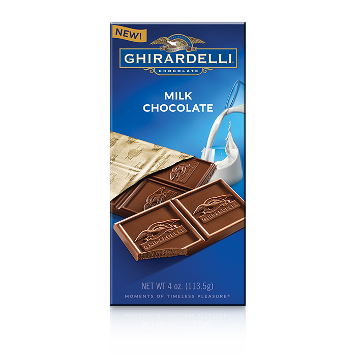 Image for Milk Chocolate Bar (4.0 oz.) from Ghirardelli
