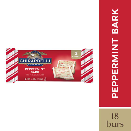 Peppermint Bark 2pc SQUARES (Case of 18)