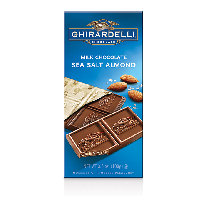 Milk Chocolate Sea Salt Almond Bar (3.5 oz.)