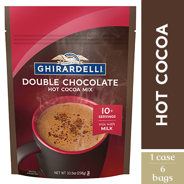Image for Double Chocolate Premium Hot Cocoa (Case of 6) from Ghirardelli