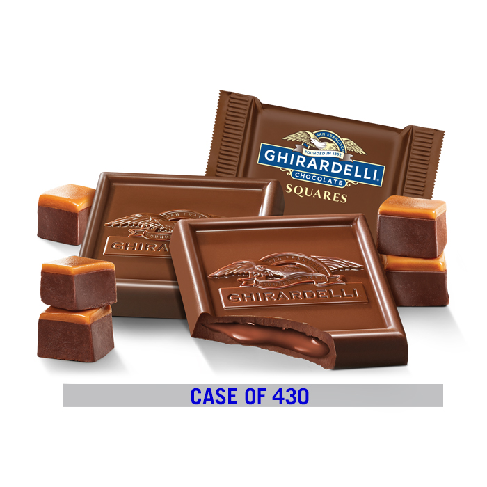 Fudge Caramel Chocolate Square Case Pack (430 ct.)