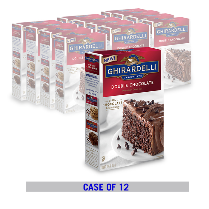 Double Chocolate Cake Mix (12 ct. case)