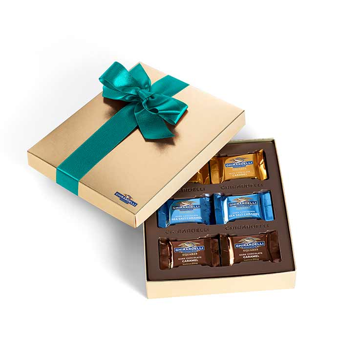 Chocolate & Caramel Gift Box (18 pc)