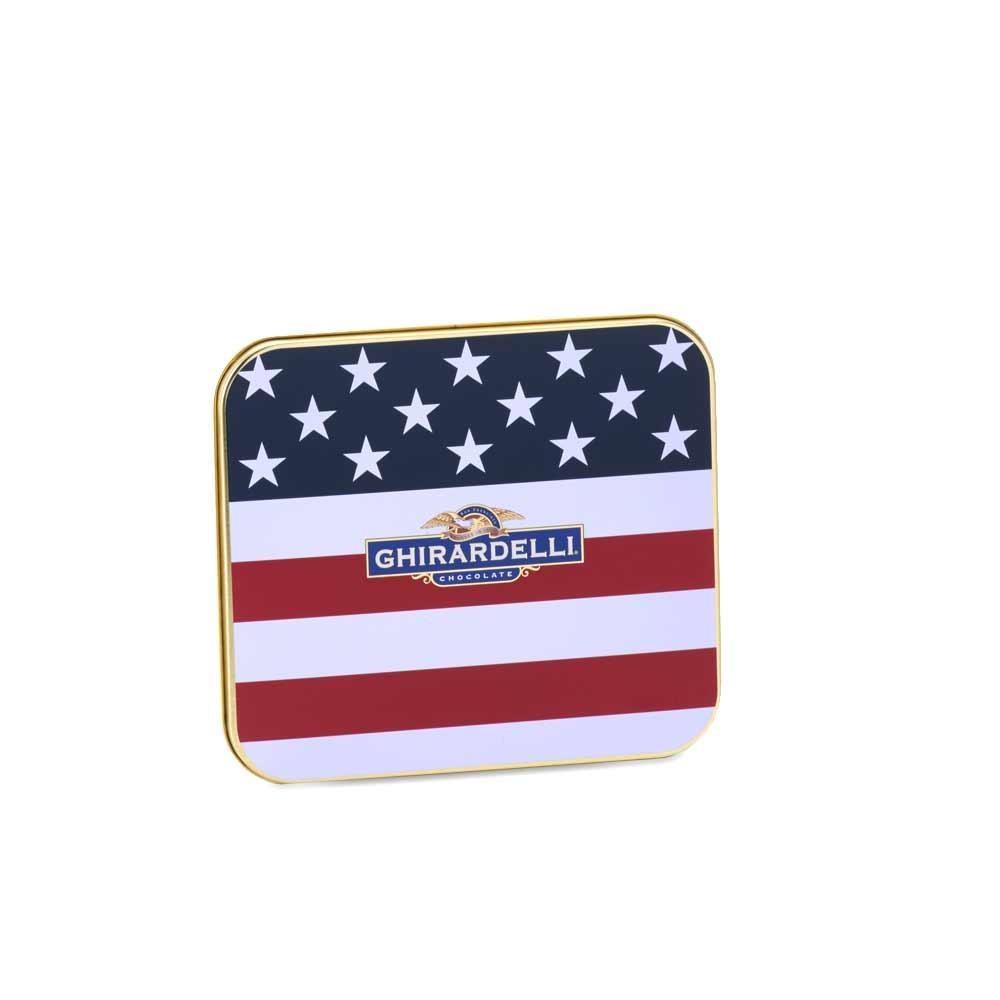 Image for Americana Postcard Tin (6 pc) from Ghirardelli