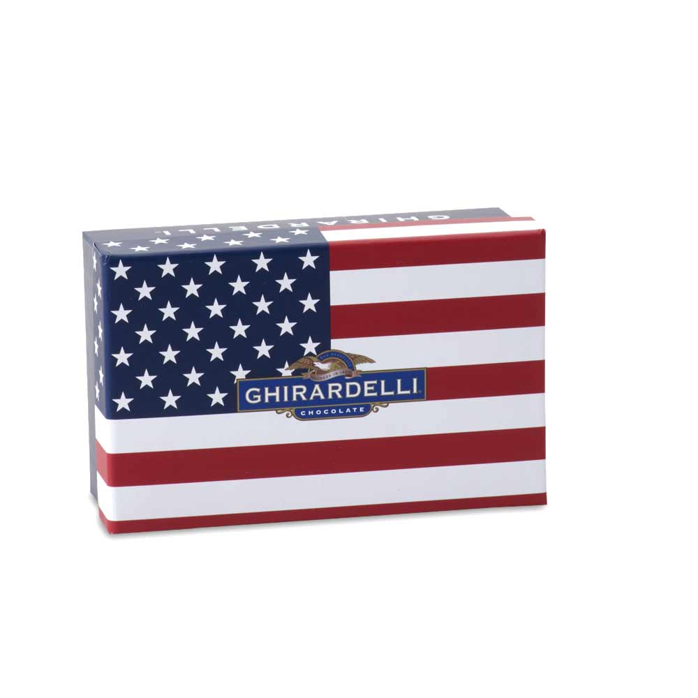 Image for America Gift Box (18pc) from Ghirardelli