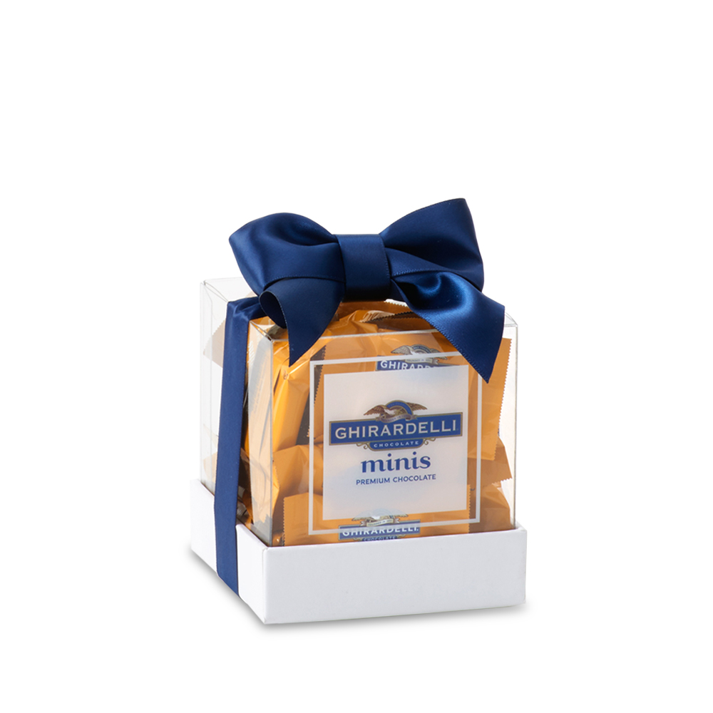 Image for minis Milk Chocolate Caramel Gift Box (25 pc) from Ghirardelli