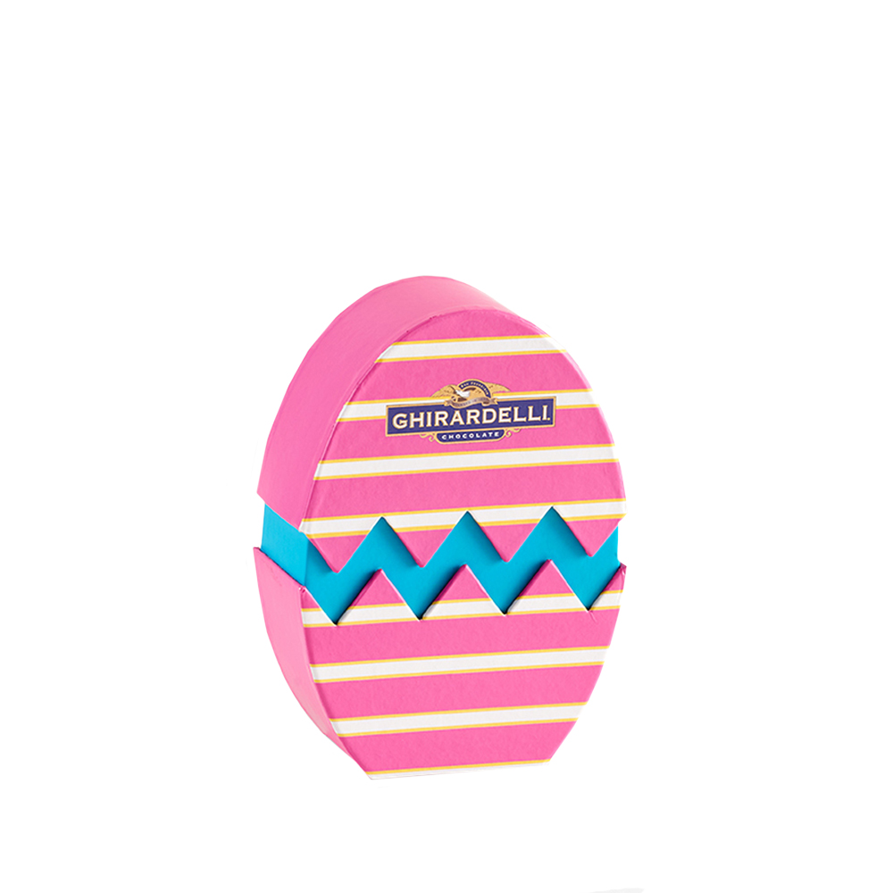 Small Pink Egg Gift Box (12 pc)