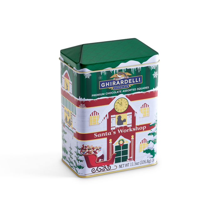 Winter Village Workshop Keepsake Tin (24 pc)