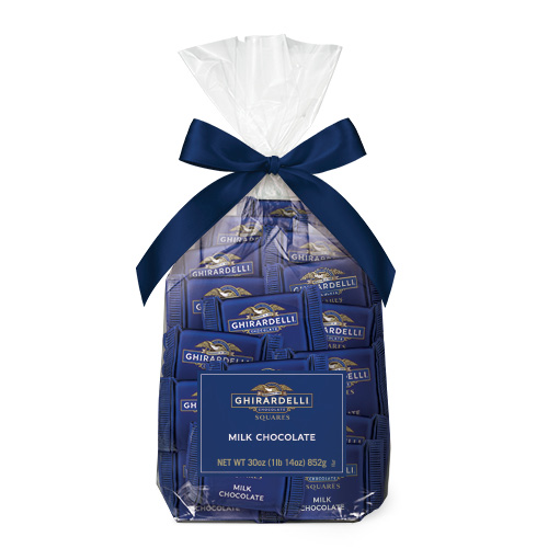 Milk Chocolate SQUARES Gift Bag (80 pc)