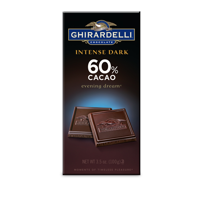 Image for 60% Cacao Evening Dream Bar (3.5 oz.) from Ghirardelli