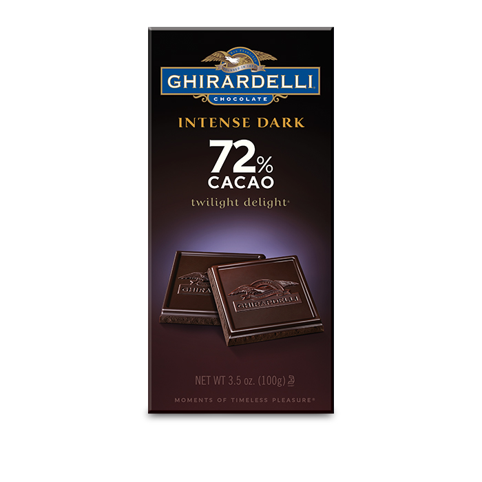 Image for 72% Cacao Twilight Delight Bar (3.5 oz.) from Ghirardelli