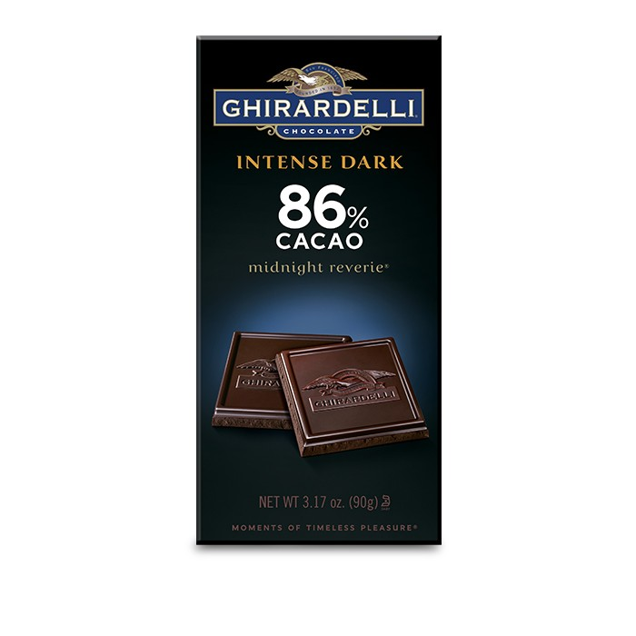 Image for 86% Cacao Midnight Reverie Bar (3.17 oz.) from Ghirardelli