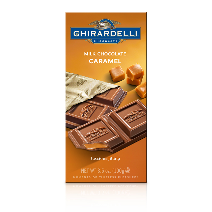 Image for Milk Chocolate Caramel Bar (3.5 oz.) from Ghirardelli