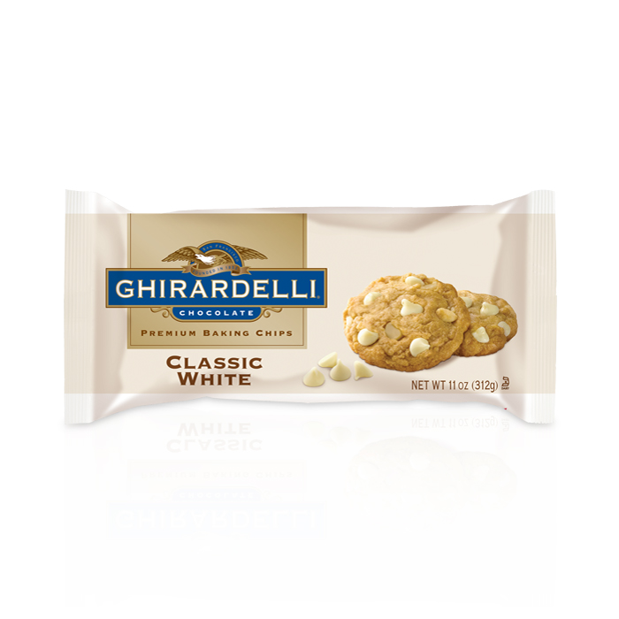 Image for Classic White Baking Chips (11 oz.) from Ghirardelli