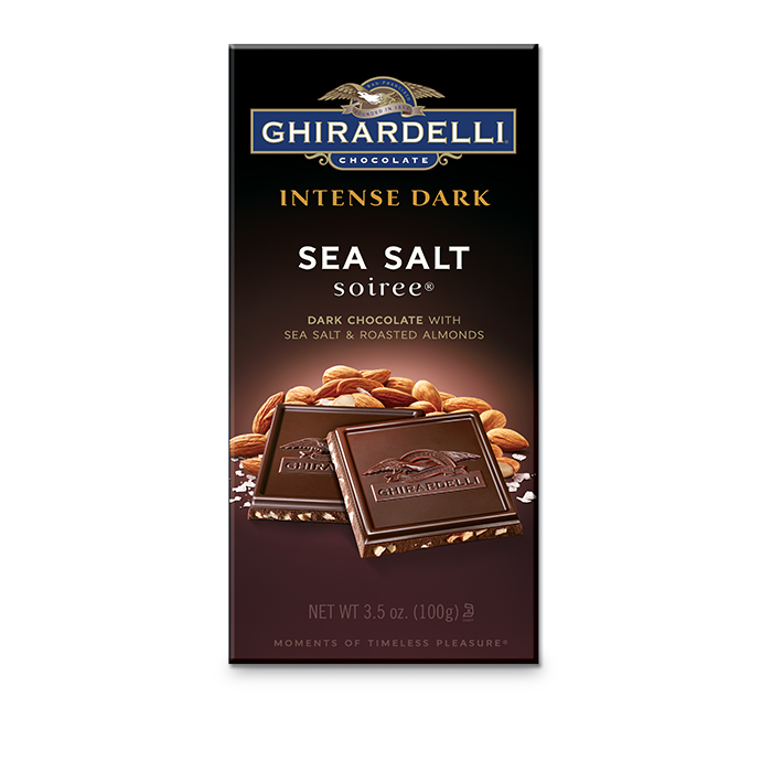 Image for Sea Salt Soiree Bar (3.5 oz.) from Ghirardelli