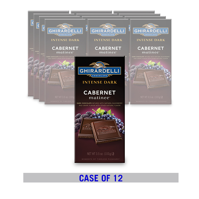 Image for Cabernet Matinee Bar  (12 ct. / 3.5 oz. ea) from Ghirardelli