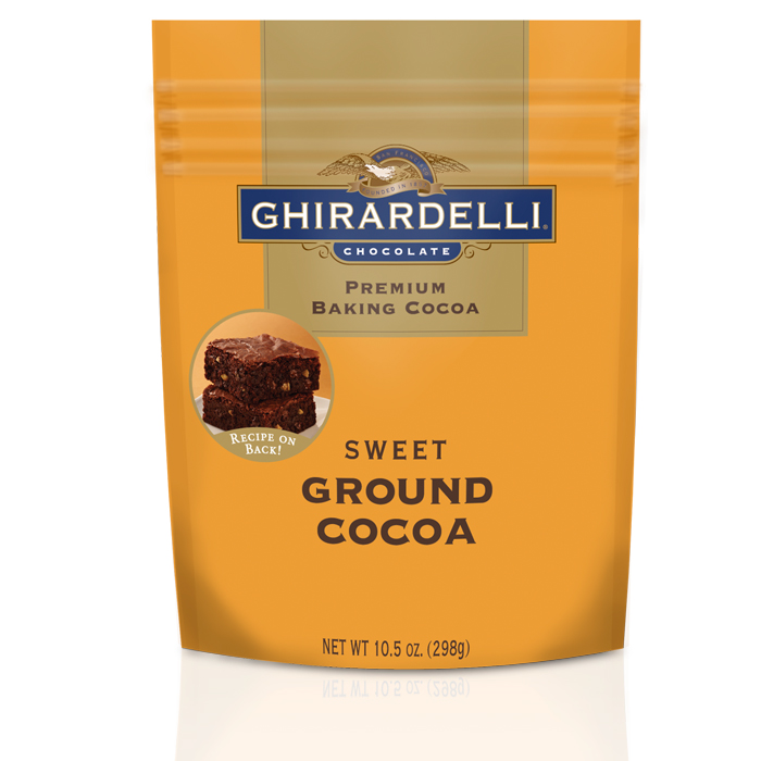 Image for Sweet Ground Cocoa (10.5 oz.) from Ghirardelli