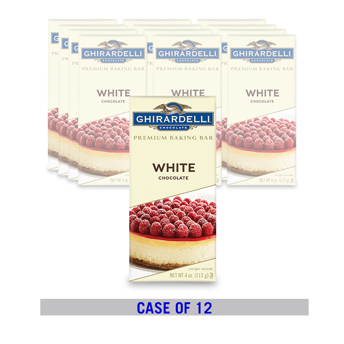 Image for Classic White Baking Bar (12 ct. / 4 oz. ea) from Ghirardelli