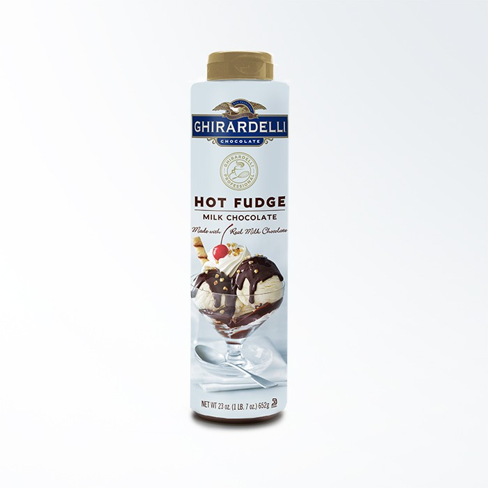 Image for Hot Fudge Squeeze Bottle Case (12 ct / 23 oz. ea) from Ghirardelli