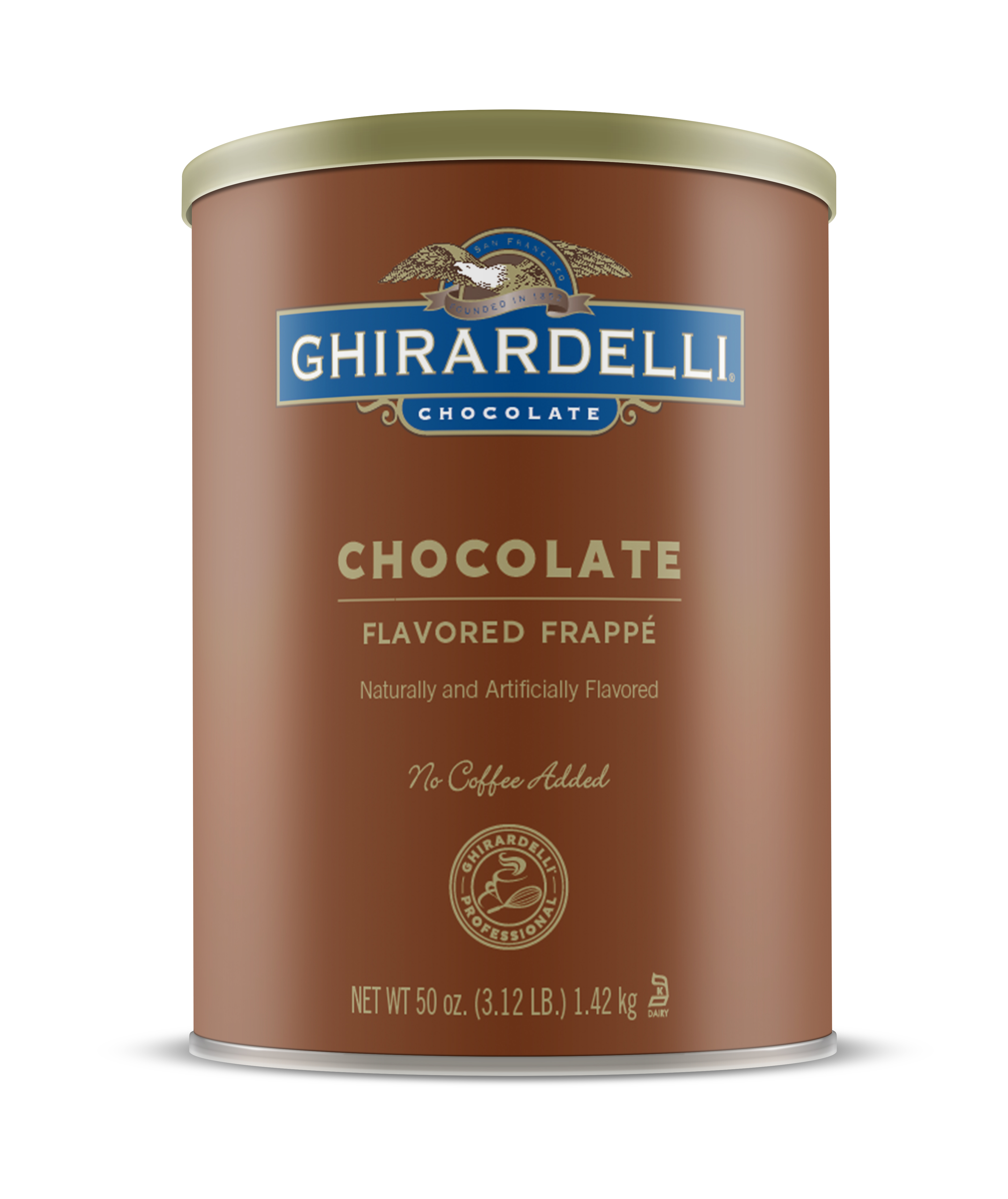 Image for Chocolate Frappé (6 ct. / 3.12 lbs. ea) from Ghirardelli