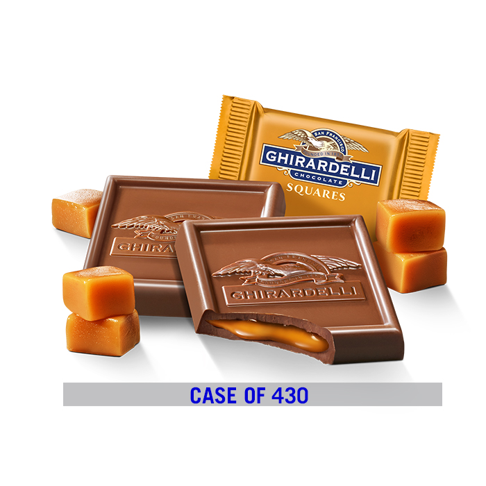 Image for Milk Chocolate Caramel Square Case Pack (430 ct.) from Ghirardelli