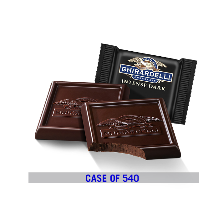 Image for Intense Dark Chocolate 60% Cacao Square Case Pack (540 ct.) from Ghirardelli