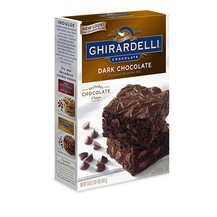 Image for Dark Chocolate Brownie Mix from Ghirardelli