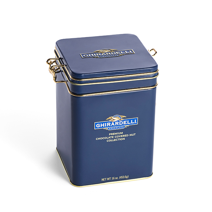 Image for Signature Keepsake Tin (16 oz.) from Ghirardelli