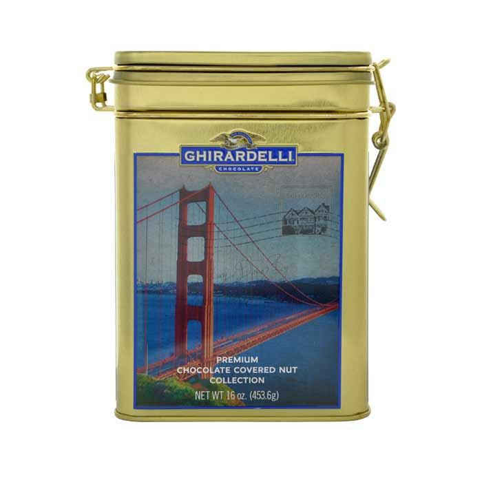 Image for San Francisco Keepsake Tin with Chocolate Covered Assortment (16 oz.) from Ghirardelli