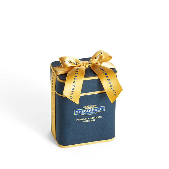Image for Signature Navy Gift Box (10 PC, 2-Flavor Mix) from Ghirardelli