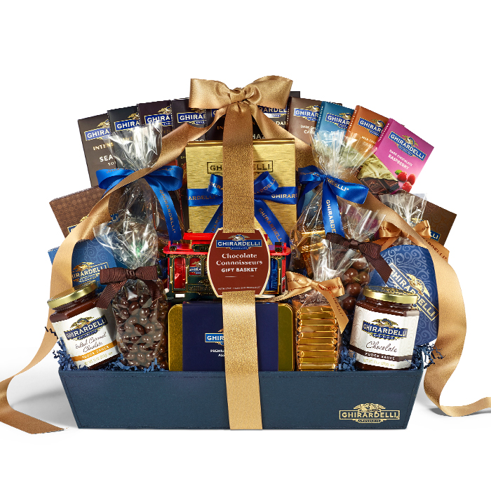 Image for Chocolate Connoisseur Gift Basket from Ghirardelli