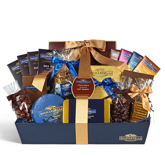 Image for Limited Edition Chocolate Lovers Gift Basket from Ghirardelli