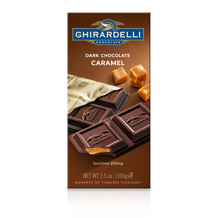 Dark Chocolate Caramel Bar (3.5 oz.)