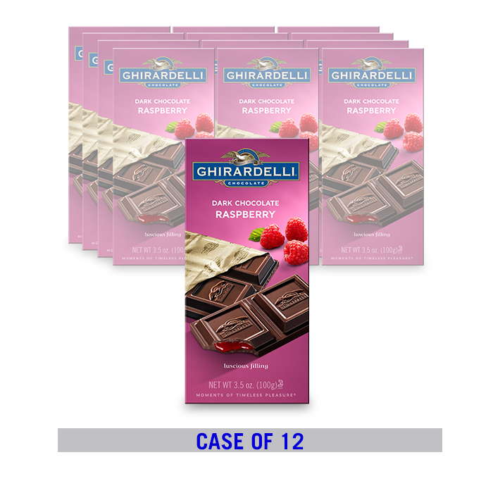 Dark Chocolate Raspberry Bar (12 ct. / 3.5 oz. ea)