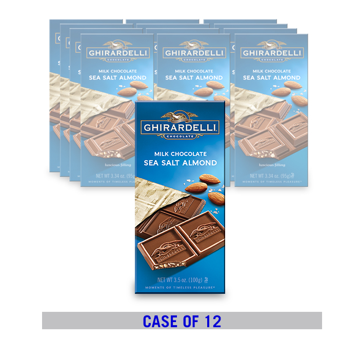 Milk Chocolate Sea Salt Almond Bar (12 ct. / 3.5 oz. ea)