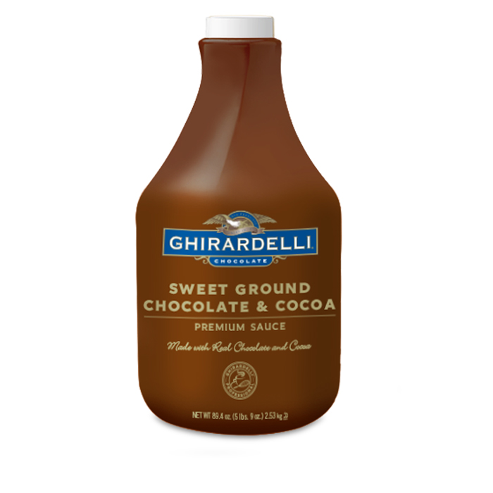 Sweet Ground Chocolate and Cocoa Sauce (87.3 fl oz.)