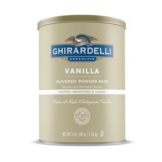 Vanilla Flavored Powder Base (3 lb.)