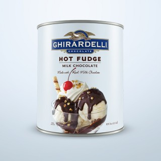 Hot Fudge Sauce Can Case (6 ct / 8 lbs. ea)