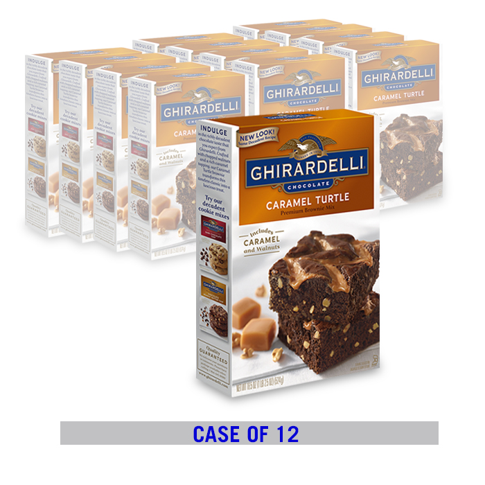 Caramel Turtle Brownie Mix (12 ct. case)
