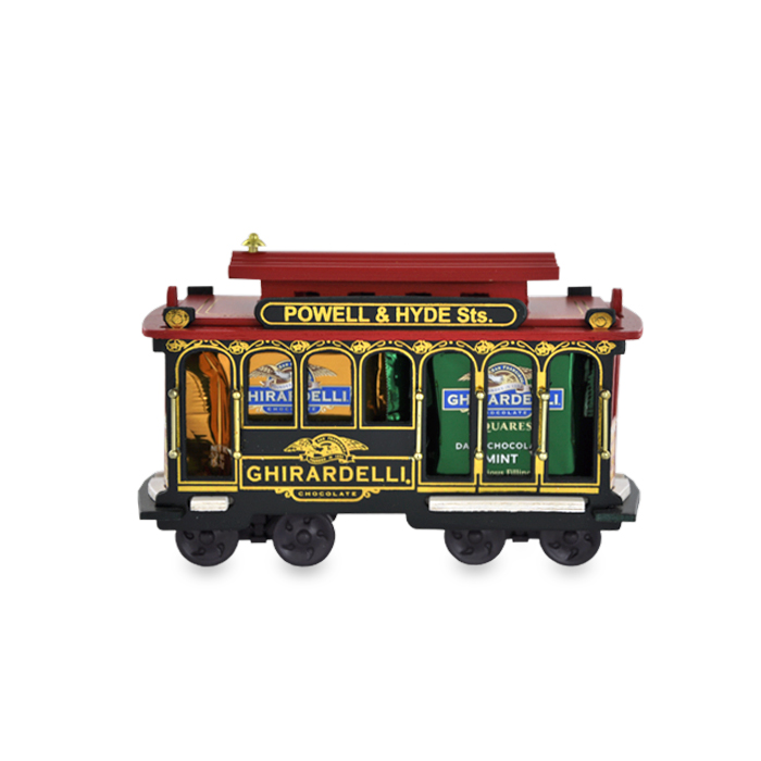 Wooden Ghirardelli Cable Car (14 pc.)