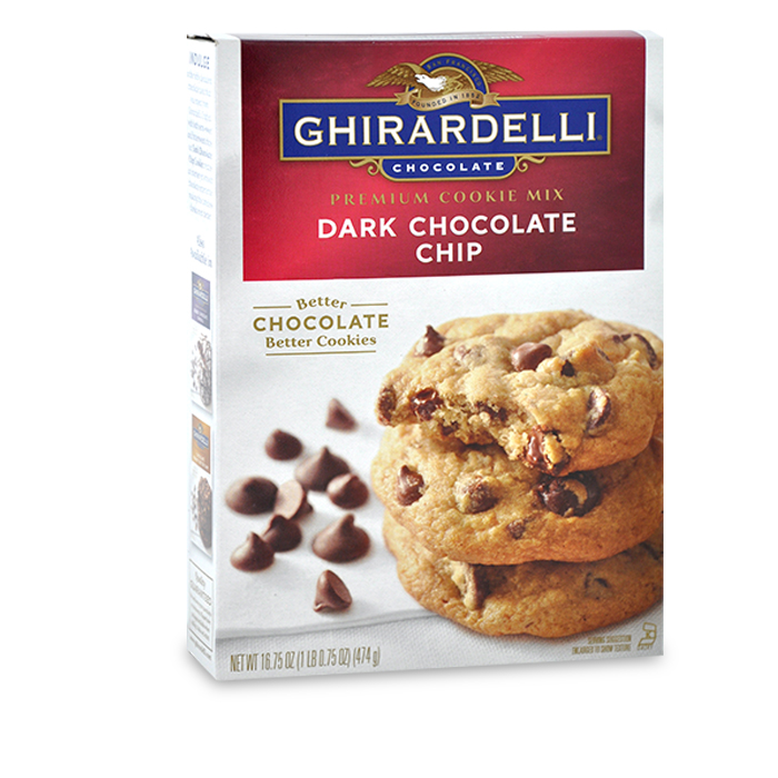 Dark Chocolate Chip Cookie Mix