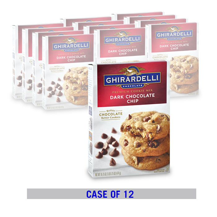 Dark Chocolate Chip Cookie Mix (12 ct. case)