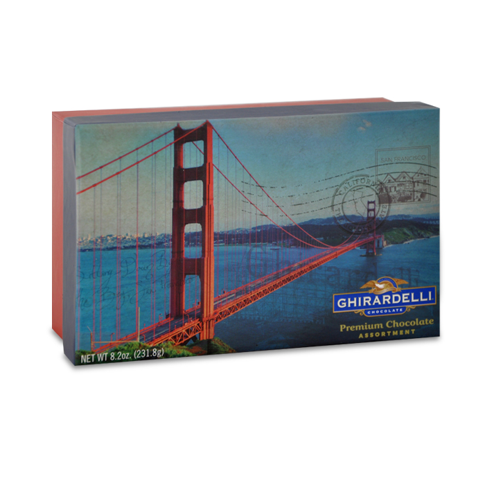 San Francisco Golden Gate Bridge Gift Box (18 pc)