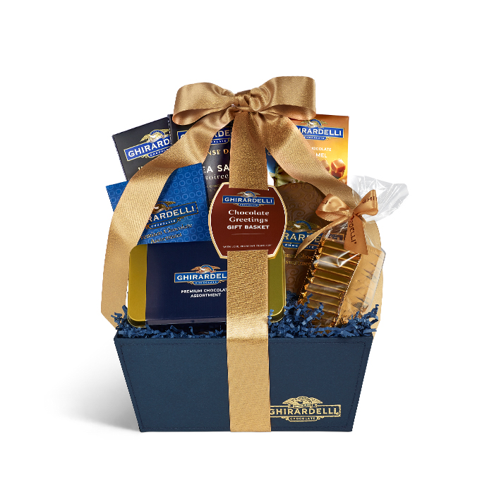 Chocolate Greetings Gift Basket