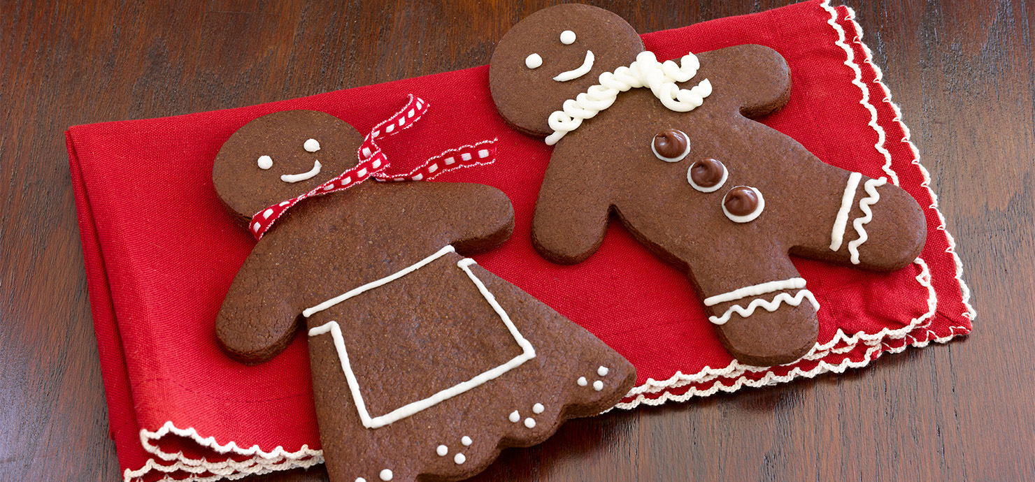 Image for Chocolate Gingerbread Men from Ghirardelli