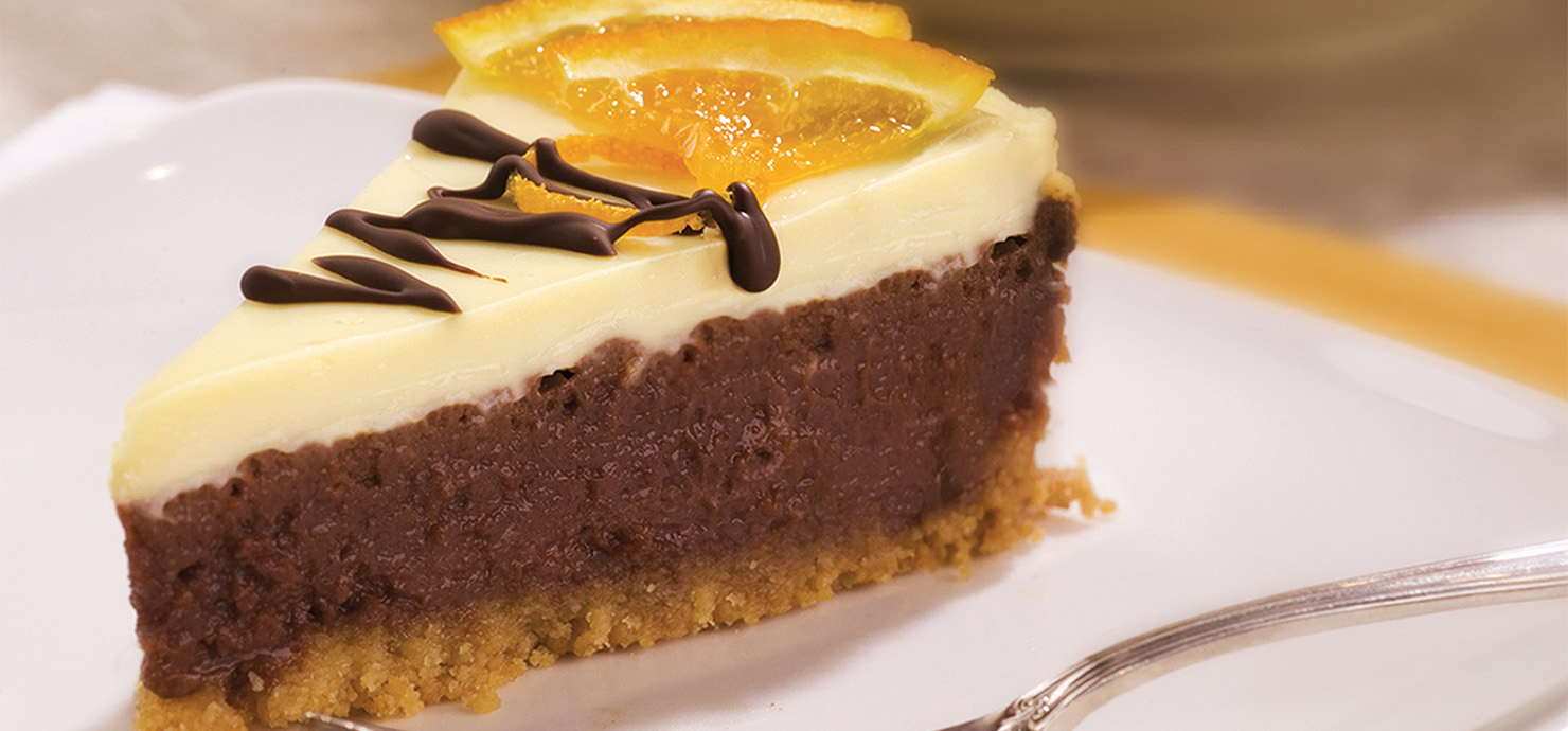 Image for Chocolate Orange Cheesecake from Ghirardelli